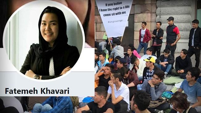 """Fräcka utspelet från Khavari efter beskedet om att 9 000 afghaner får stanna: """"Vi har mycket kvar!"""""""