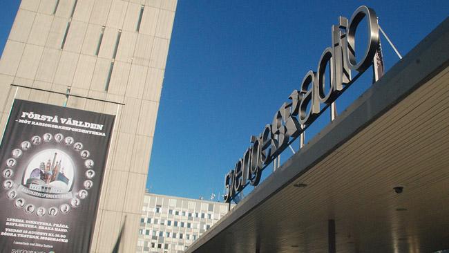 Radiohuset på Gärdet. Foto: Nyheter Idag