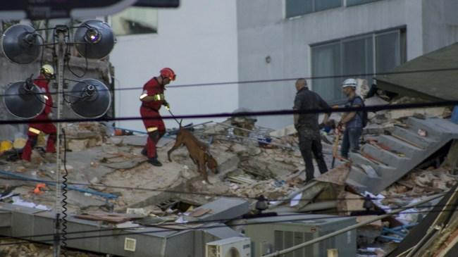 Hundratals döda i jordbävning i Mexiko – värsta på årtionden