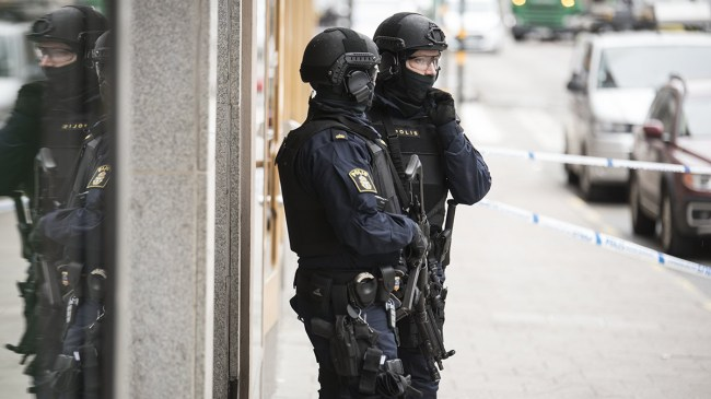 Terrorhot mot Stockholm