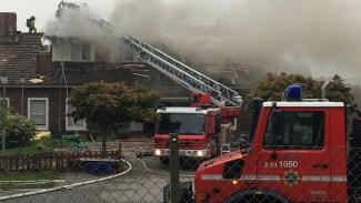 En person anhållen för moskébranden i Örebro