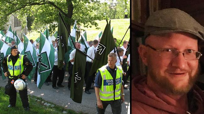 NMR till vänster och Mathias Wåg till höger. Foto: CC Peter Isotalo samt Nyheter Idag