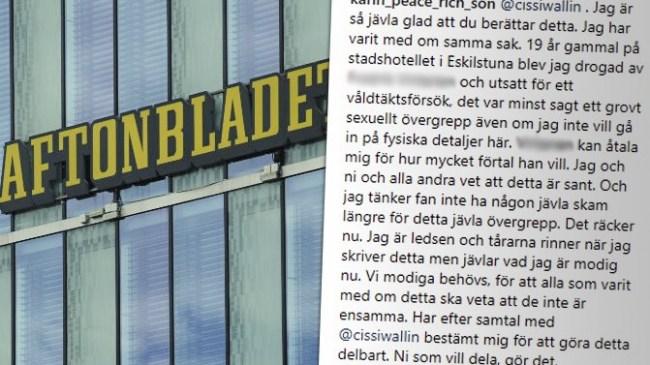 Fjärde kvinna berättar: Aftonbladet-mannen försökte våldta mig när jag var nitton