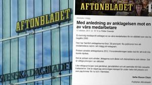 """Aftonbladet om mediemannens våldtäkt mot Cissi Wallin: """"Brott kunde inte styrkas"""""""