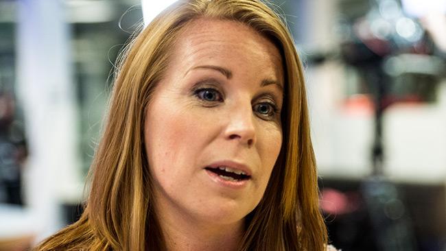 Annie Lööf (C). Foto: Nyheter Idag