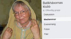 """Ingrid, 75: """"Jag är en batikhäxa"""" – vill ta tillbaka ökänt skällsord"""