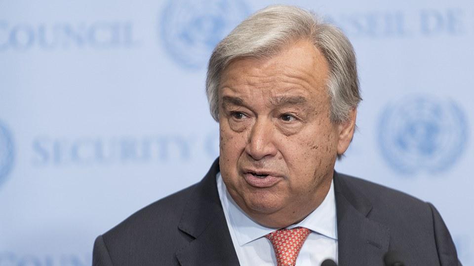 António Guterres. Foto: FN/pressbild