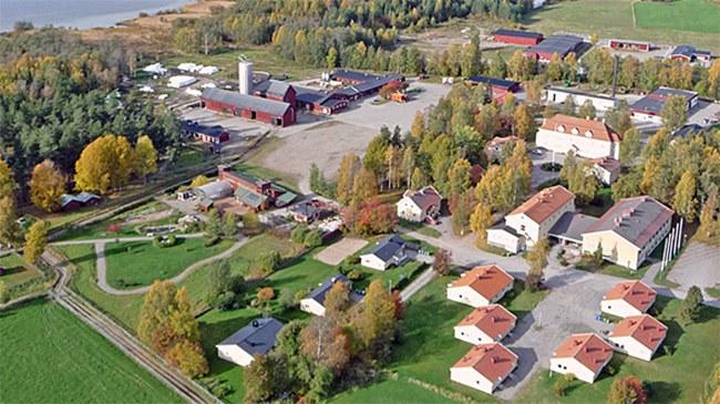 Grans Naturbruksgymnasium. Foto: Piteå kommun
