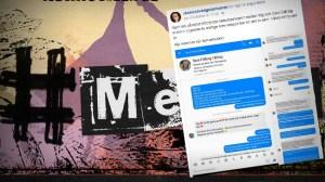 Nekades tala på Metoo-manifestation eftersom hon är med i SD