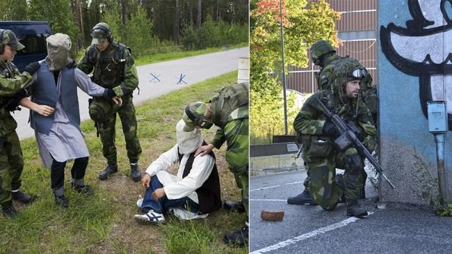 """Moderater vill sätta in militär i Sveriges utsatta förorter – """"I krig använder man sig av samhällets totala resurser"""""""