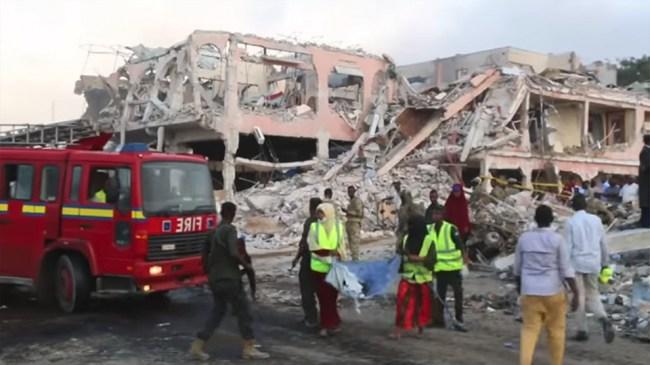 Över 300 döda i lördagens terrordåd i Mogadishu