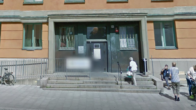 Passexpeditionen i Stockholms city. Foto: Google Maps