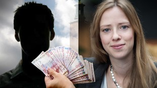 Åsa Lindhagen (t.h.) ger gärna bort andras pengar. Montage: Nyheter Idag