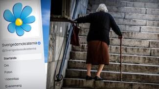 70-årig tant kommenterade på SD:s Facebooksida: Åtalas för hets mot folkgrupp