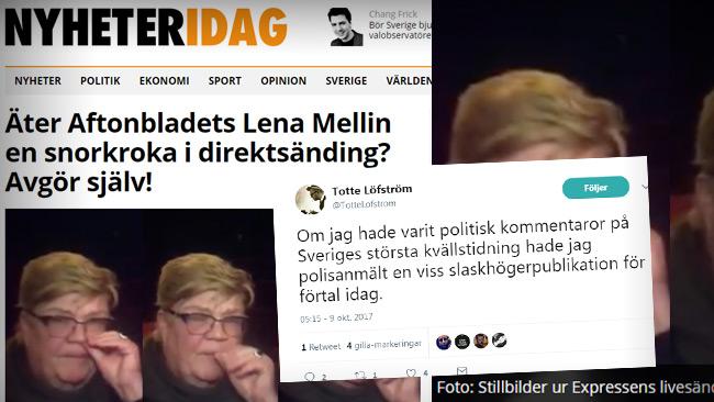 Foto: Faksimil Twitter & Nyheteridag.se