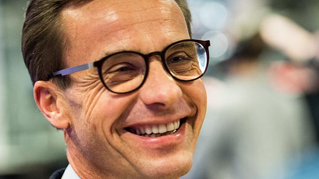 Ulf Kristersson (M). Foto: Nyheter Idag