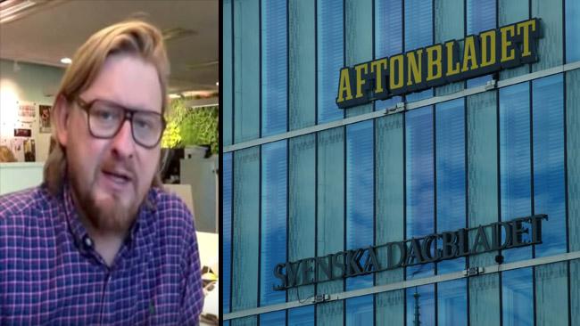 Nu träder Virtanen fram. Foto: Youtube samt Nyheter Idag