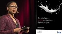 Kulturminister Alice Bah Kuhnke (MP). Foto: Nyheter Idag/Faksimil