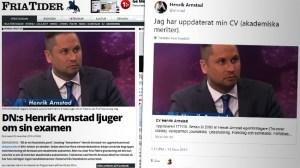 """Henrik Arnstad: """"Jag har uppdaterat min CV"""""""