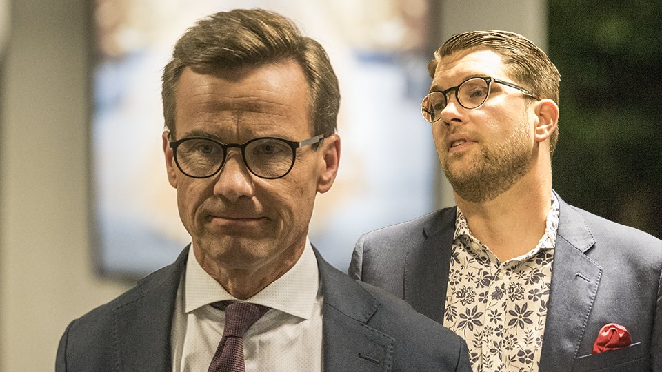 Moderaterna fortsatter tappa nu mindre an sd