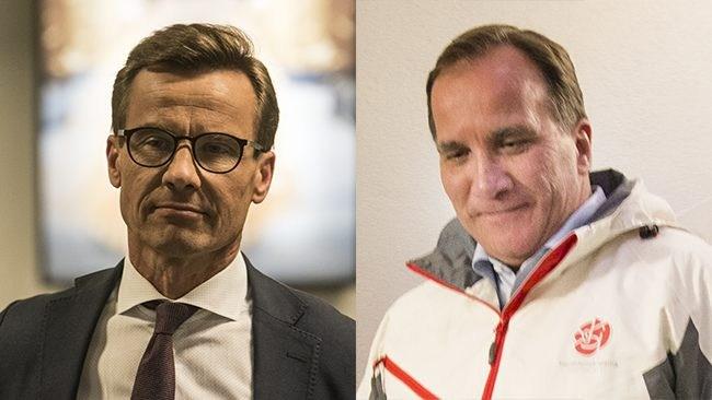 """Efter Löfvens nazistattack – nu slår Kristersson tillbaka: """"Borde städa upp i sin egen rörelse"""""""