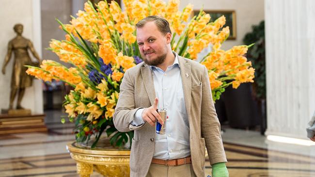 Pavel Gamov. Foto: Nyheter Idag