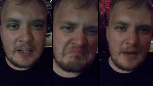 Här hotar Pavel Gamov den ensamstående mamman i en video.