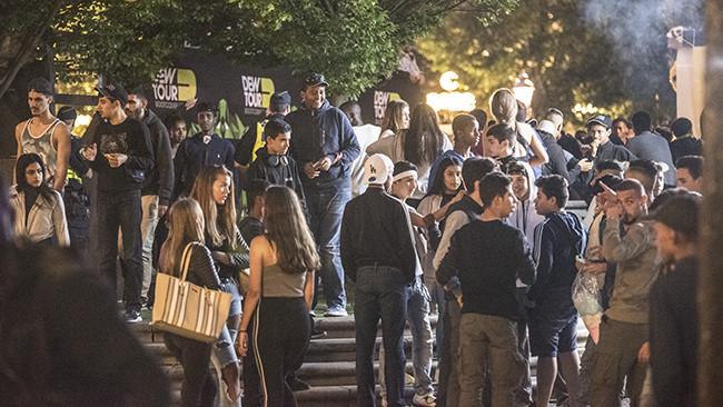 Ungdomsfestivalen We are Sthlm är ökänd för sina många sexualbrott. Foto: Nyheter Idag
