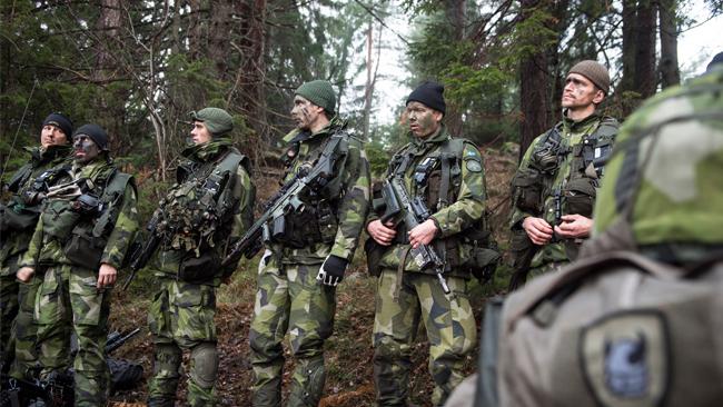 Foto: Joel Thungren /Försvarsmakten/Combat Camera