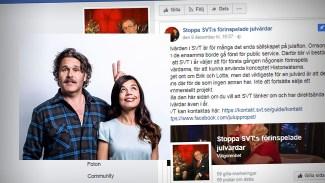"""Traditionsenlig folkstorm när SVT förändrar julfirandet - Weise: """"Det är åt helvete!"""""""