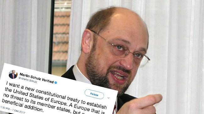 Ledare för tyska Socialdemokraterna: Godkänn Europas förenta stater eller bli utslängd