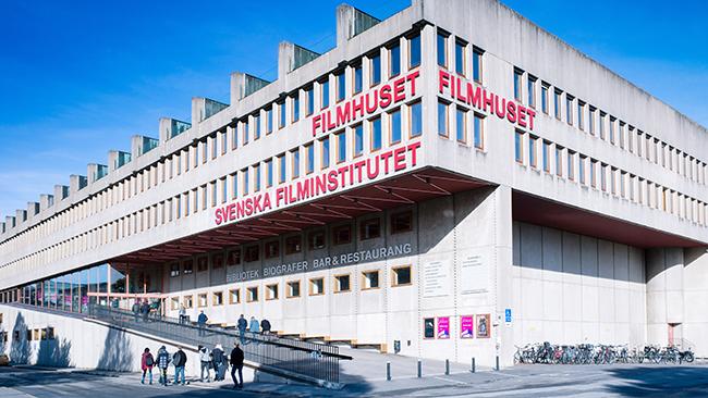 Filmhuset i Stockholm. Foto: Mark Standley/Svenska Filminstitutet