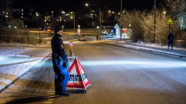 Två personer sköts på en pizzeria i Uppsala på fredagen. Foto: Nyheter Idag