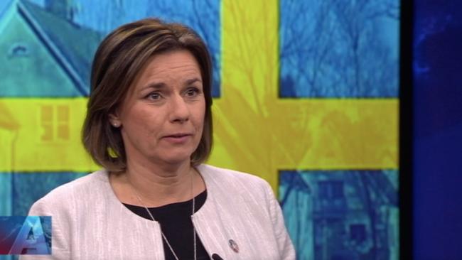Isabella Lövin (MP). Foto: svt.se