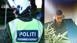 Polisjakt i Danmark: Man misstänkt för yxattack sågs råna en bank