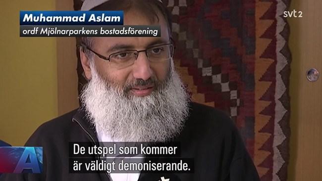 SVT Aktuellt lät ökänd islamist vara sanningsvittne om dansk integrationspolitik
