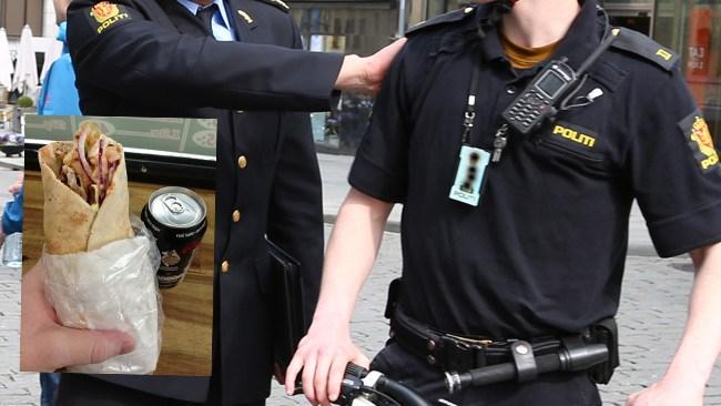"""Tvillingar kastade kebab på norsk polis - Döms till fängelse: """"Han känner smärta i bröstet"""""""