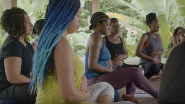 Här kan svarta kvinnor andas ut. Foto: Youtube