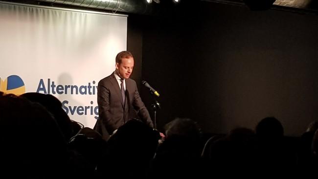 Foto: Nyheter Idag Gustav Kasselstrand Alternativ för Sverige