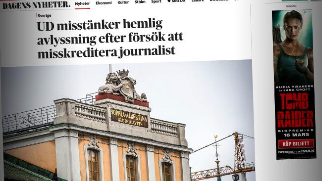 Efter avlyssningsskandalen reportarna hittade pa nyheter