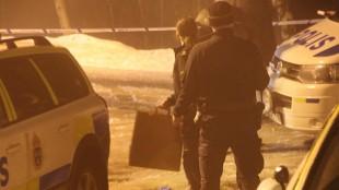 Foto: Läsarbild Skjutning i Märsta
