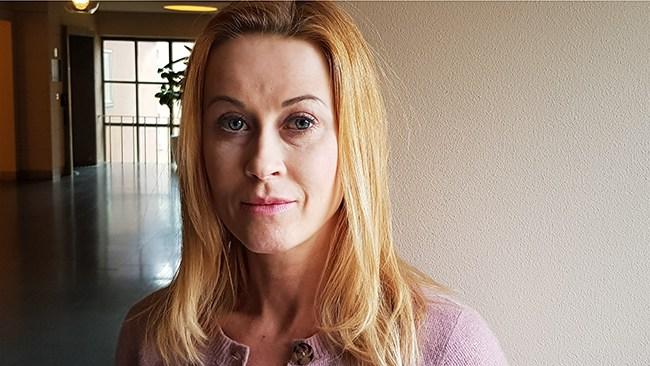 """""""Klart man ska gå ut med signalement"""": Katja Nyberg (SD) i stor intervju"""