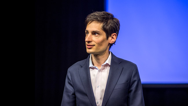 DN-redaktören Peter Wolodarski. Foto: Nyheter Idag