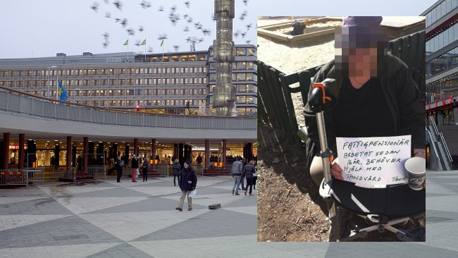 Det nya Sverige – sjukpensionären Elisabeth, 63, tiggde på gatan för att ha råd att dra ut en tand