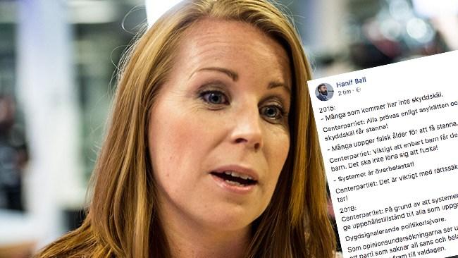 """""""Politikerlajvare"""" – häftiga reaktioner efter Centerpartiets besked om att låta 9 000 afghaner stanna i Sverige"""