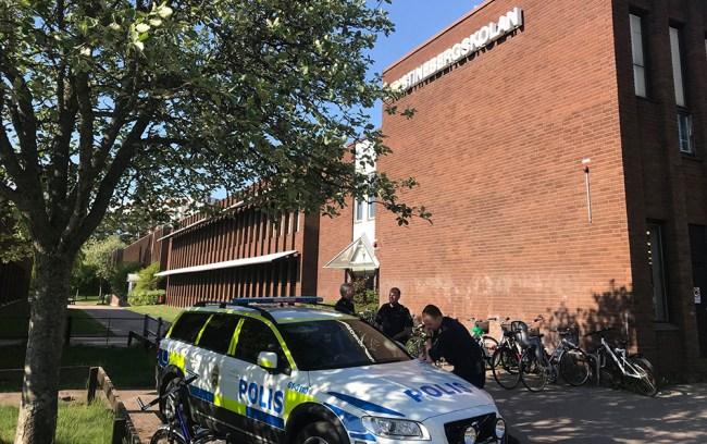 Instagram-hot om massaker på fyra skolor i Oskarshamn