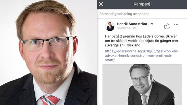 """Moderat politiker censurerad på sociala medier: """"Det här är någonting som politikerna har tvingat Facebook att göra"""""""