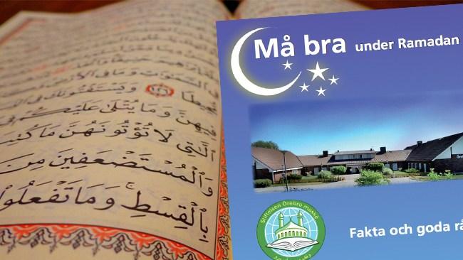 Örebro län citerar koranen i informationsbroschyr om Ramadan på sin hemsida