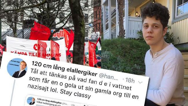 Talade ut om Ung Vänsters feminism i Nyheter Idag - Näthatas nu för sitt kön