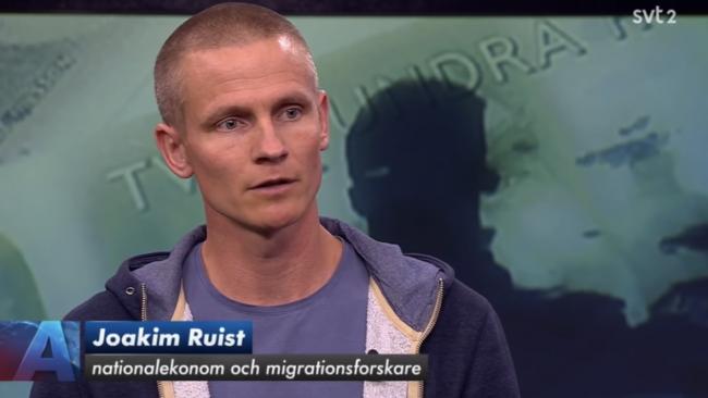 """Joakim Ruist: """"Jag blir inte förvånad om Sverigedemokraterna får stöd av upp mot 35 procent i valet"""""""